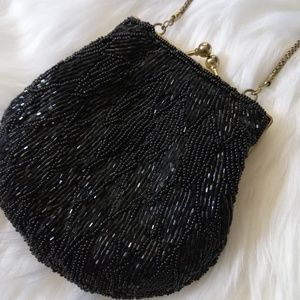 Vintage 50's 60's La Regale Handmade Beaded purse